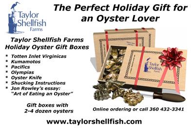 Taylor Shellfish Holiday Gift Boxes