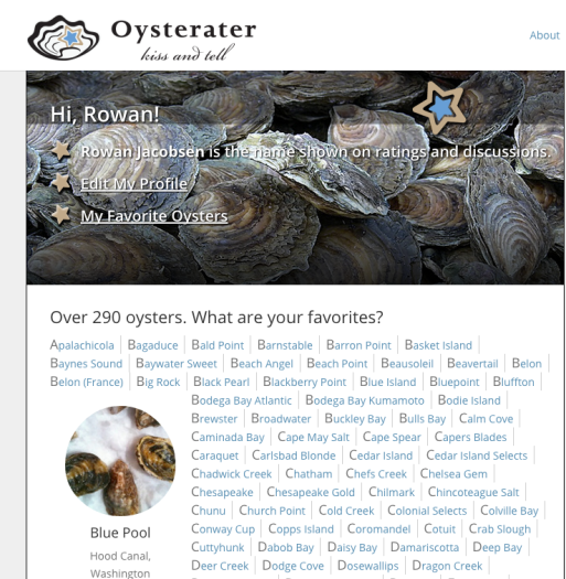 OysteRater is Live!
