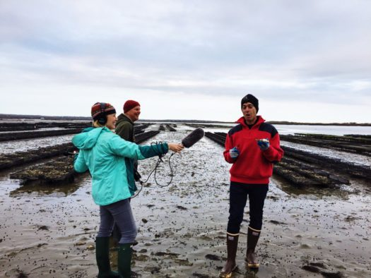 A Visit to Moon Shoal oyster farm with America's Test Kitchen