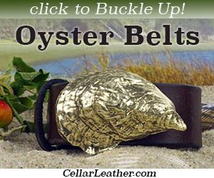 Oyster belts at CellarLeather.com